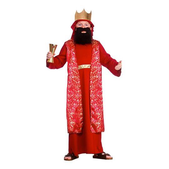 Jesu Födelse Vis Man Röd Barn Maskeraddräkt - Small