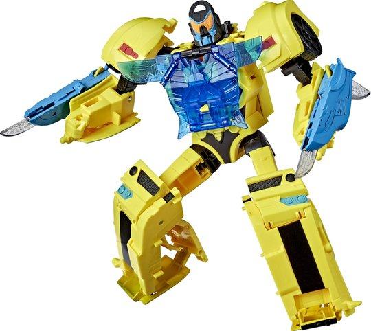 Transformers Cyberverse Warrior Figur Officer Bumblebee
