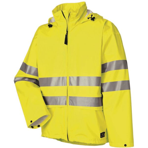 Helly Hansen Workwear Narvik Regnjacka varsel, gul Strl XS