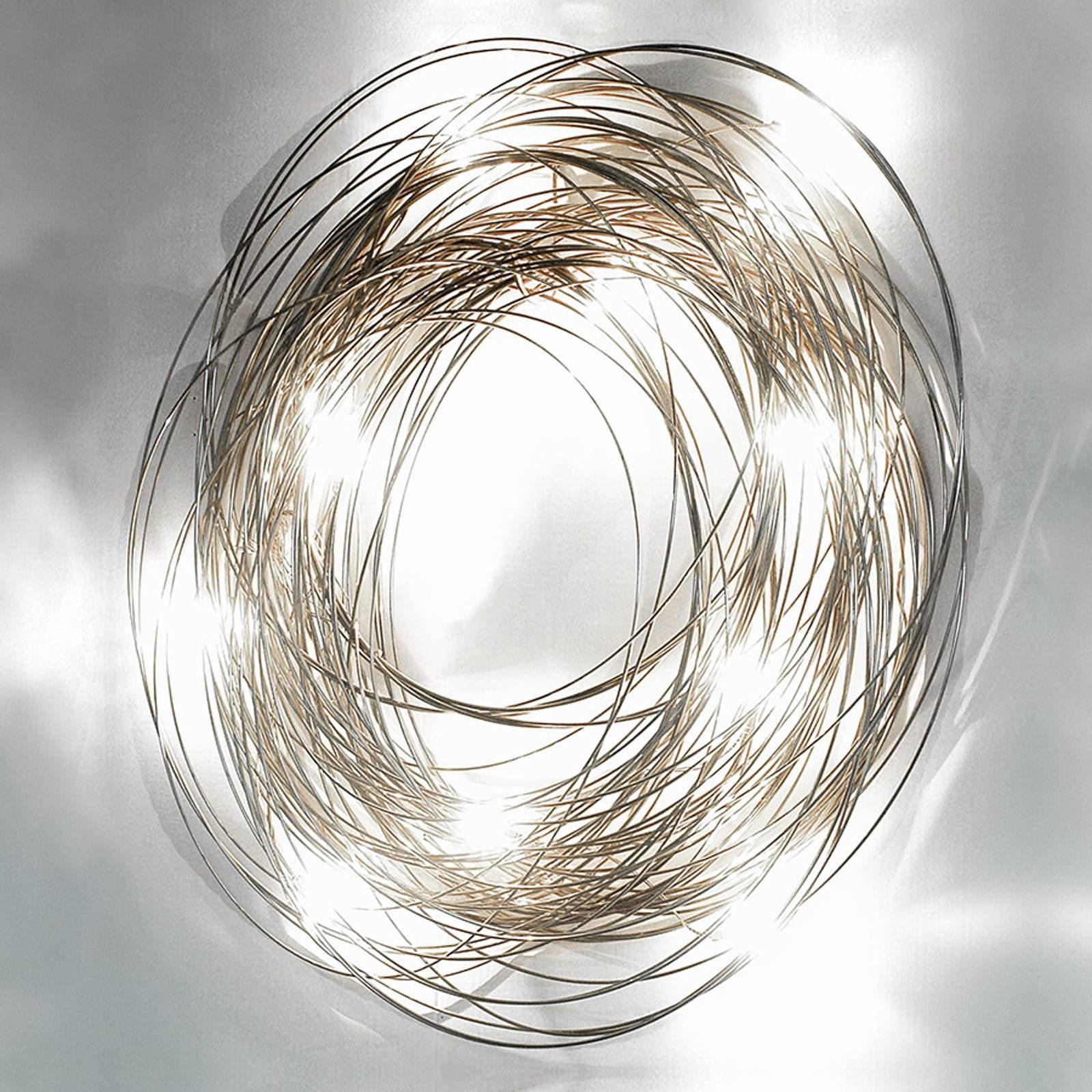 Raffinert vegglampe Confusione, 50 cm