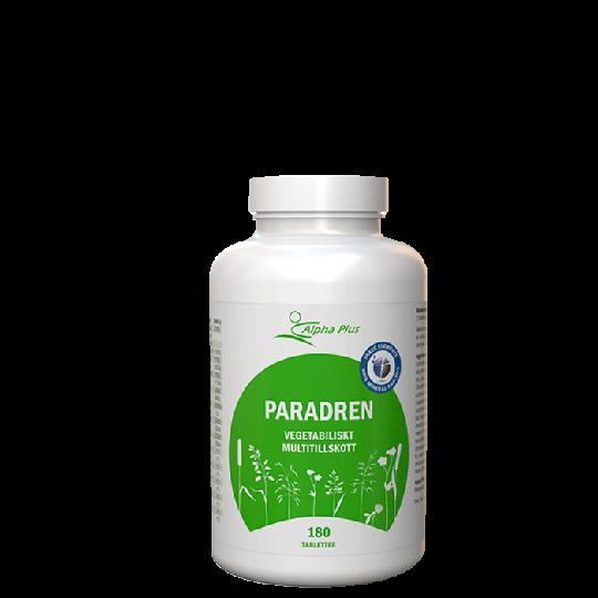 Paradren, 180 tabletter