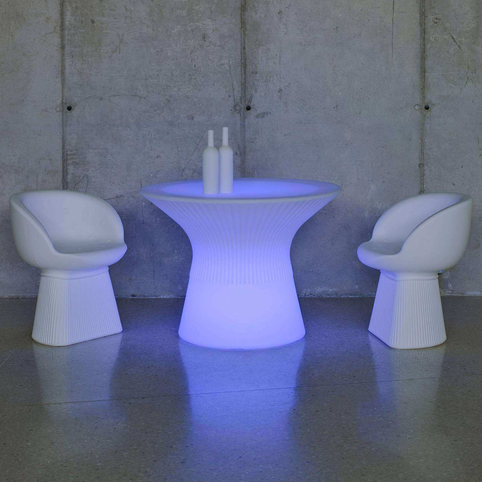 Newgarden Capri -LED-pöytä, korkeus 39 cm