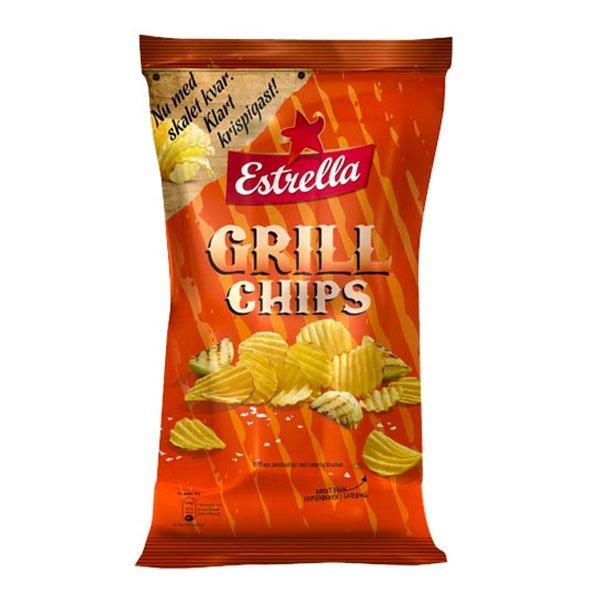 Estrella Grill Chips - 175 gram