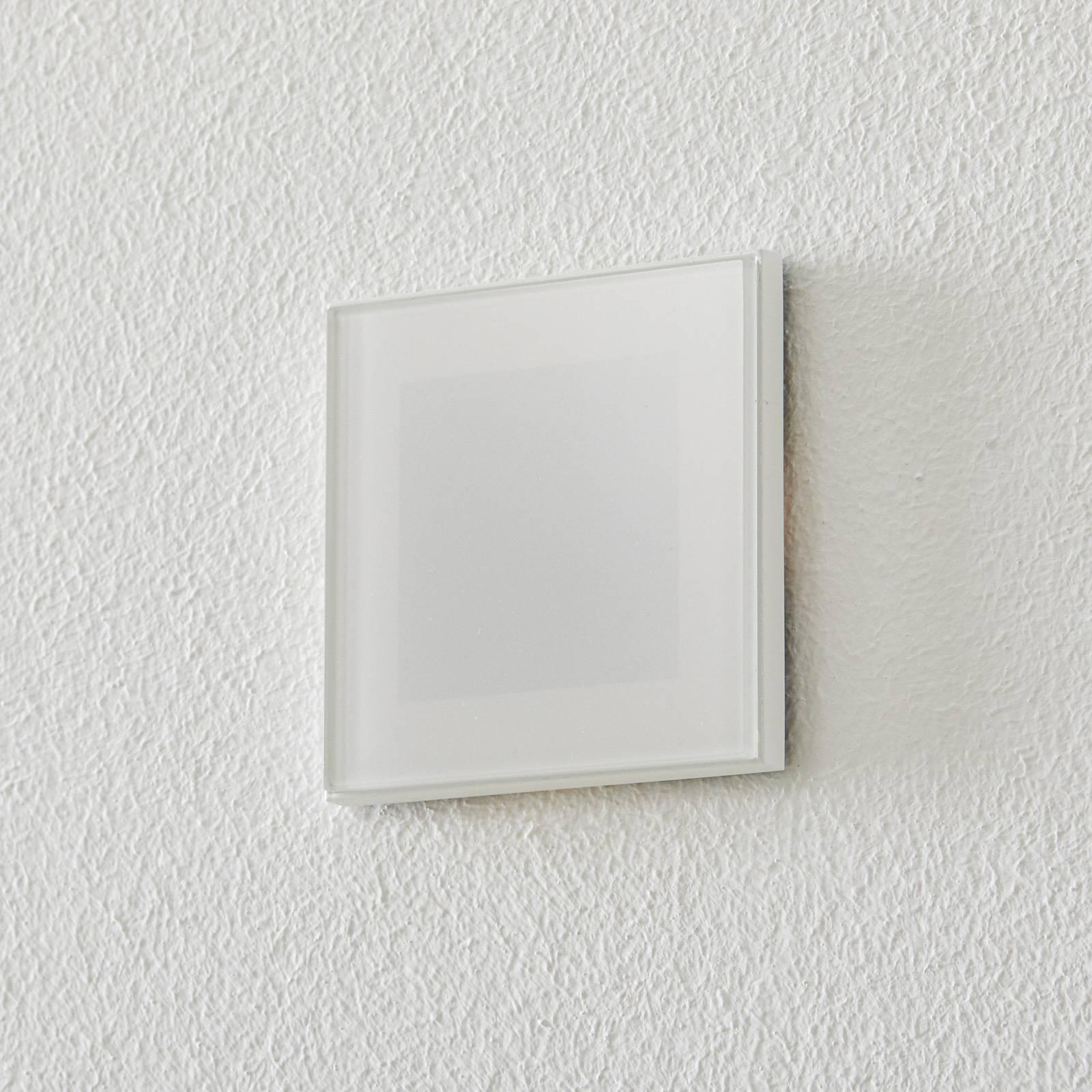 BEGA Accenta seinä kulmikas rengas valkoinen 315lm