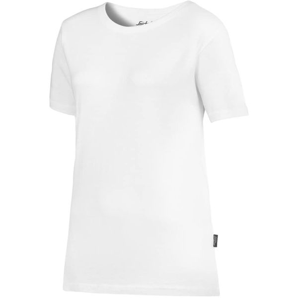 Snickers 2516 T-skjorte hvit XS