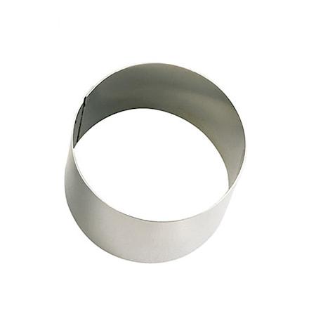 Tårtring i stål Ø 5 cm H: 4,5cm