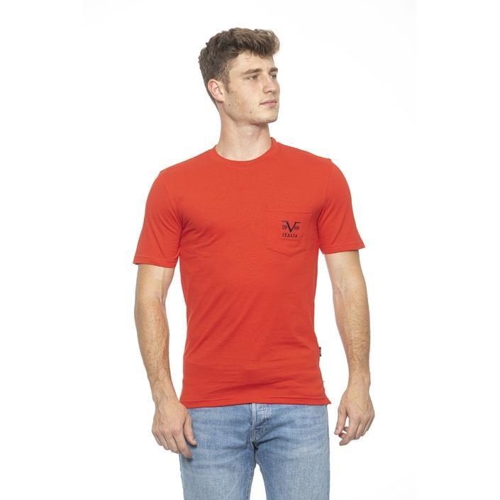 19v69 Italia Men's T-Shirt Red 185440 - red M
