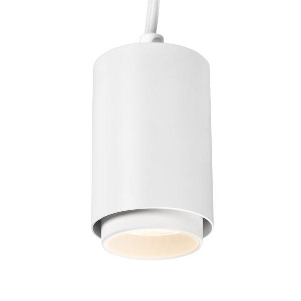 Hide-a-Lite Focus Pendant Micro Spotlight 10 W, 1-fase, 36°, hvit 3000 K