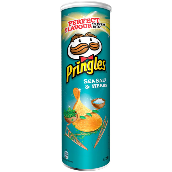 Pringles Sea Salt Herbs 200g