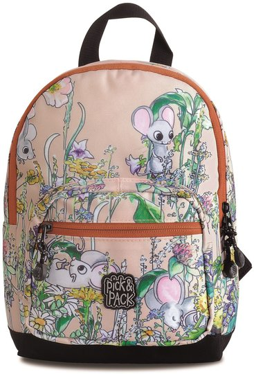 Pick & Pack Ryggsekk Mus, Rosa