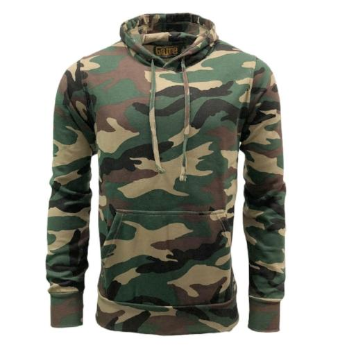 Game Technical Apparel Unisex Hoodie Various Colours Camo Hoodie - Woodland L
