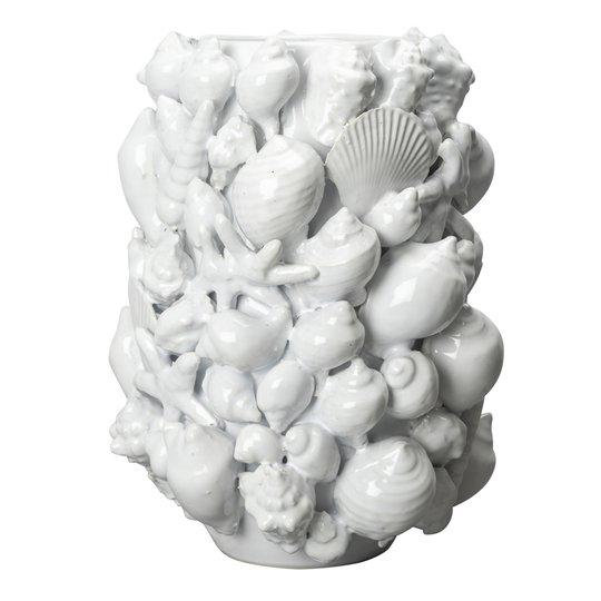 By On - Ocean Vas Snäckor 23x30,5 cm Vit