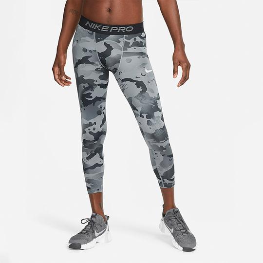 Nike Pro Camo Tights, Smoke Grey