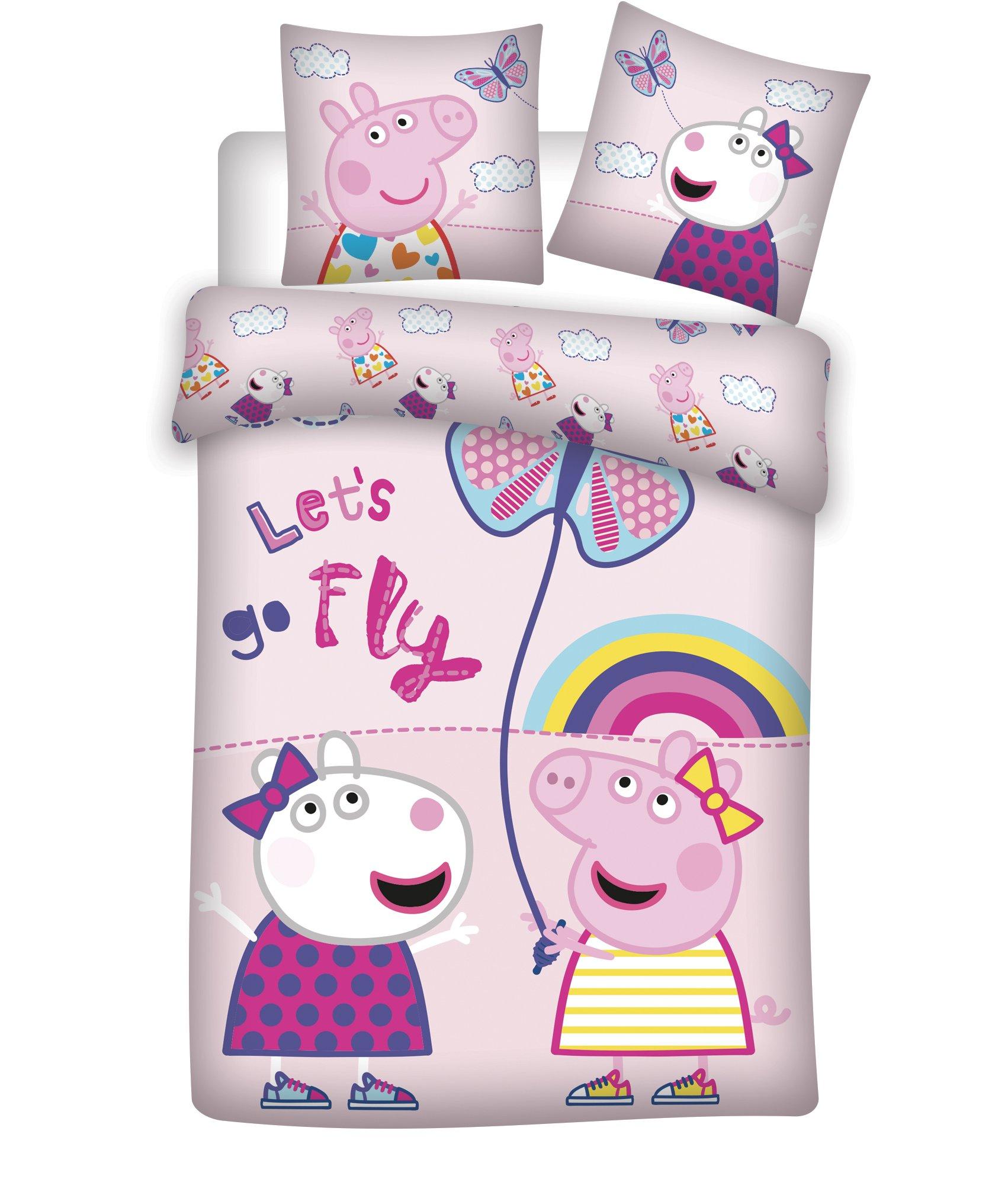 Bed Linen - Junior Size 100 x 140 cm - Peppa Pig (1000405)