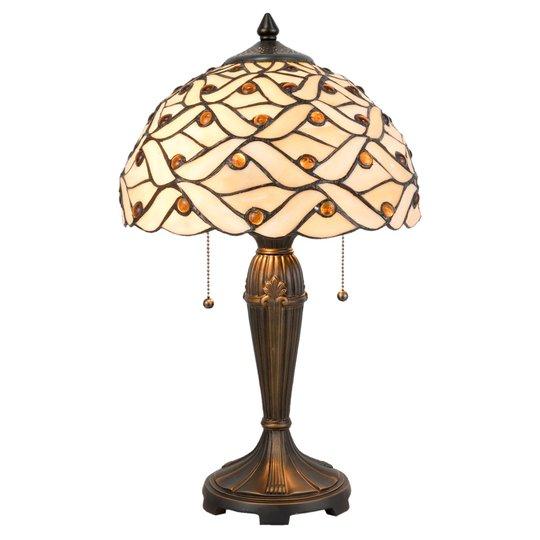 5181 bordlampe i Tiffany-design
