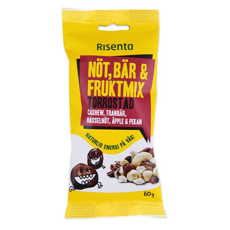 Nöt-, Bär- & Fruktmix Torrostad 60g - 35% rabatt