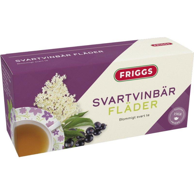Te Svartvinbär Fläder - 14% rabatt