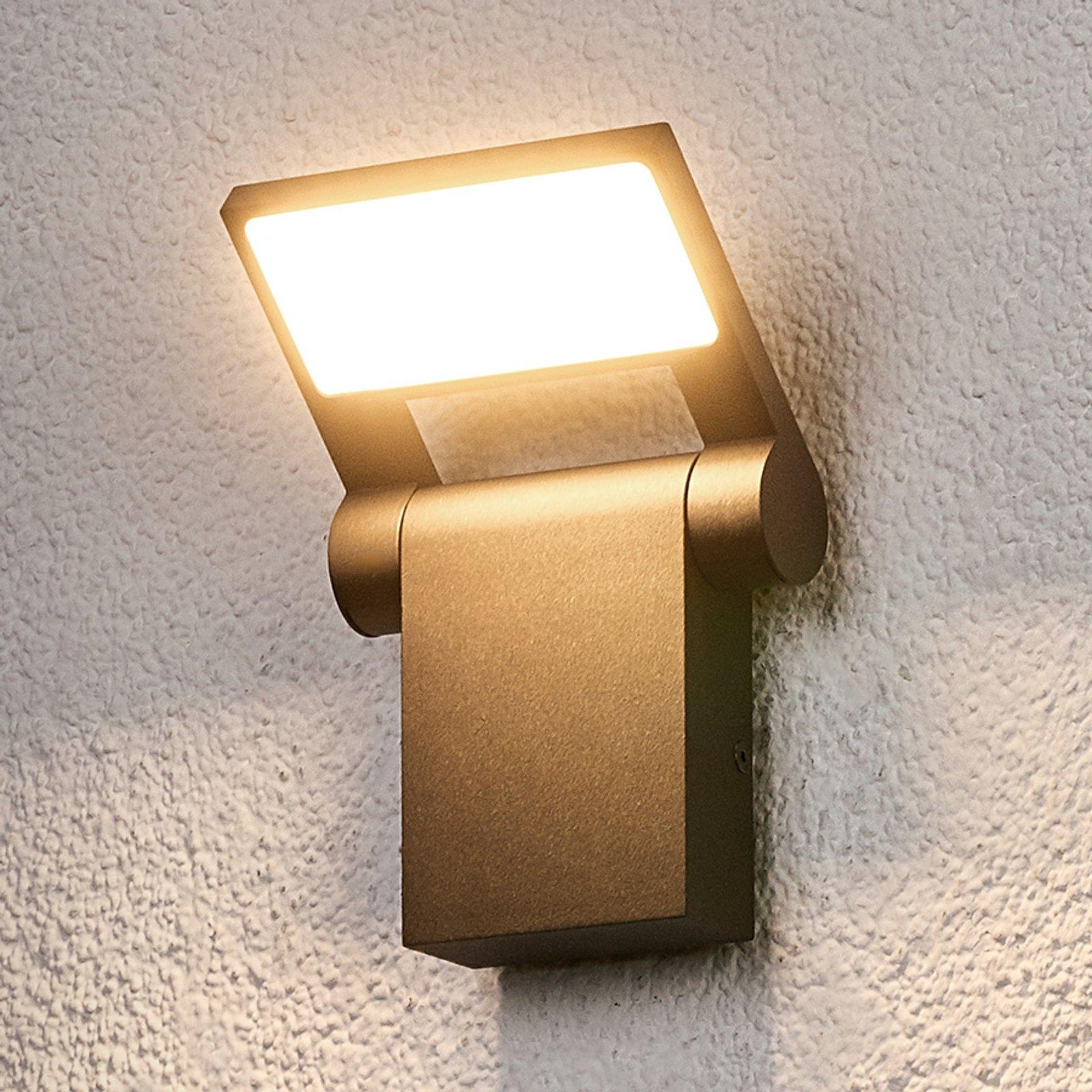 Bevegelig LED-utevegglampe Marius
