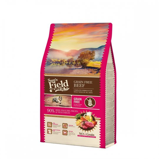 Sam's Field Adult Grain Free Beef (2,5 kg)