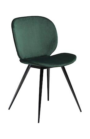 Stol Cloud Velour - Emerald Grønn