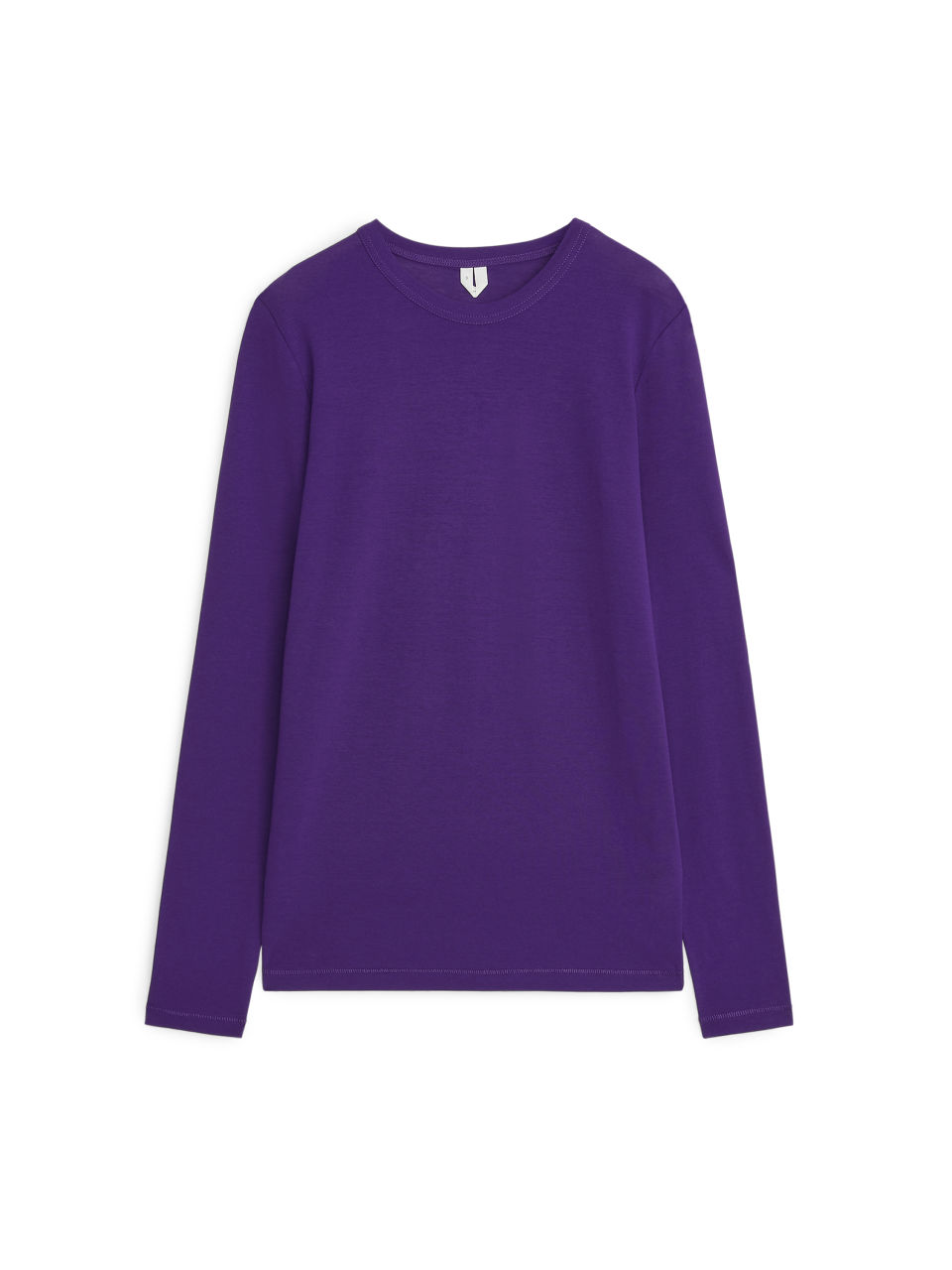 Ice Crepe Long-Sleeve - Purple