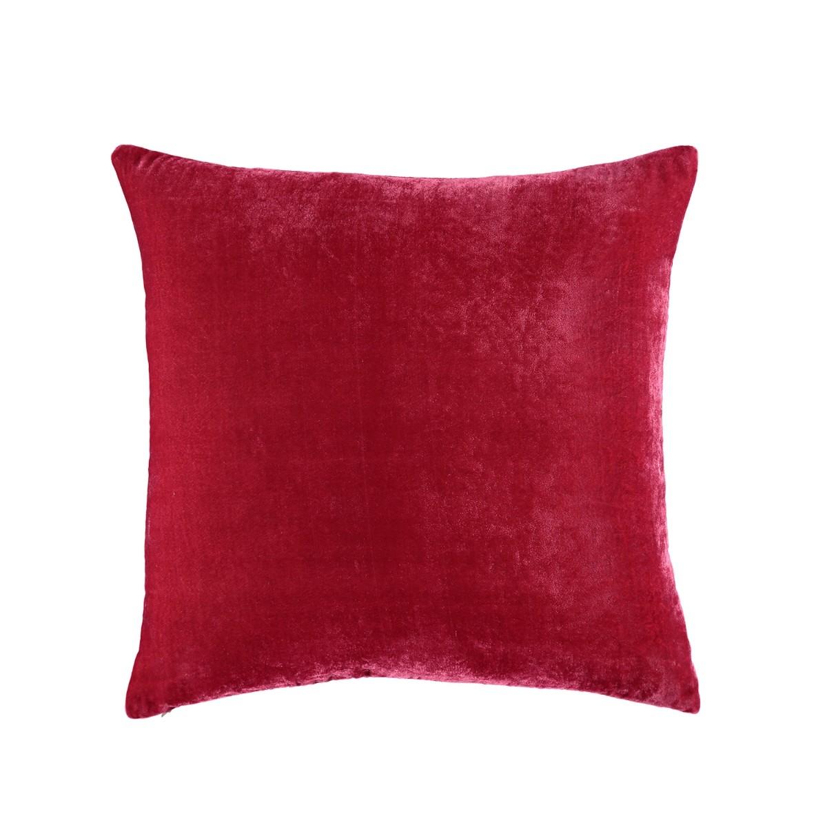 William Yeoward  Paddy Velvet Cushion Rose