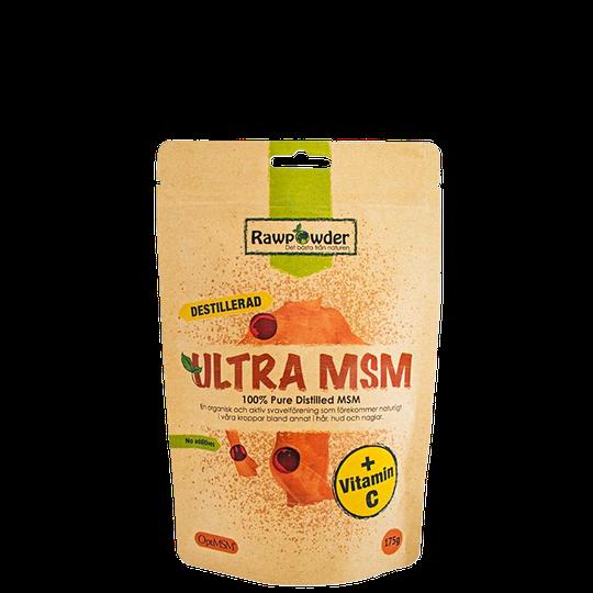 Ultra MSM+Vitamin C, 175 g