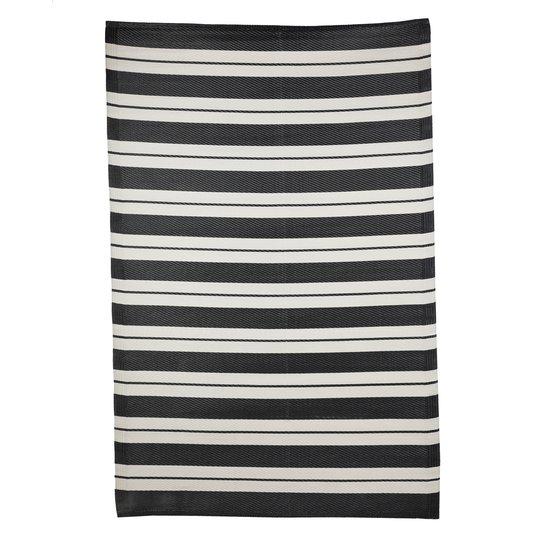 Uteteppe Fyn med striper