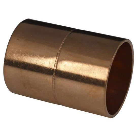 Gelia 3006021062 Kapillaariholkki pysäytyksellä, sisäinen juotos 15 mm, 5 kpl