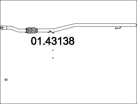 Pakoputki MTS 01.43138