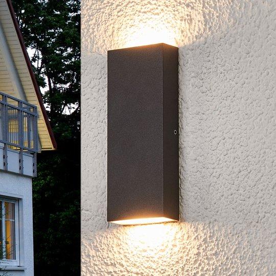 Litteä Corda LED-ulkoseinävalaisin