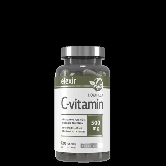 C-vitamin Komplex, 120 tabletter