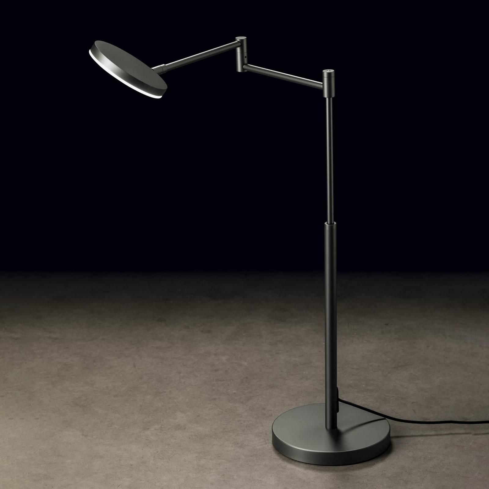 Holtkötter Plano T -LED-pöytälamppu, platina