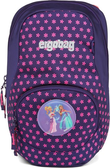 Ergobag Ease Flake Ryggsekk 6L, Blue Purple Stars