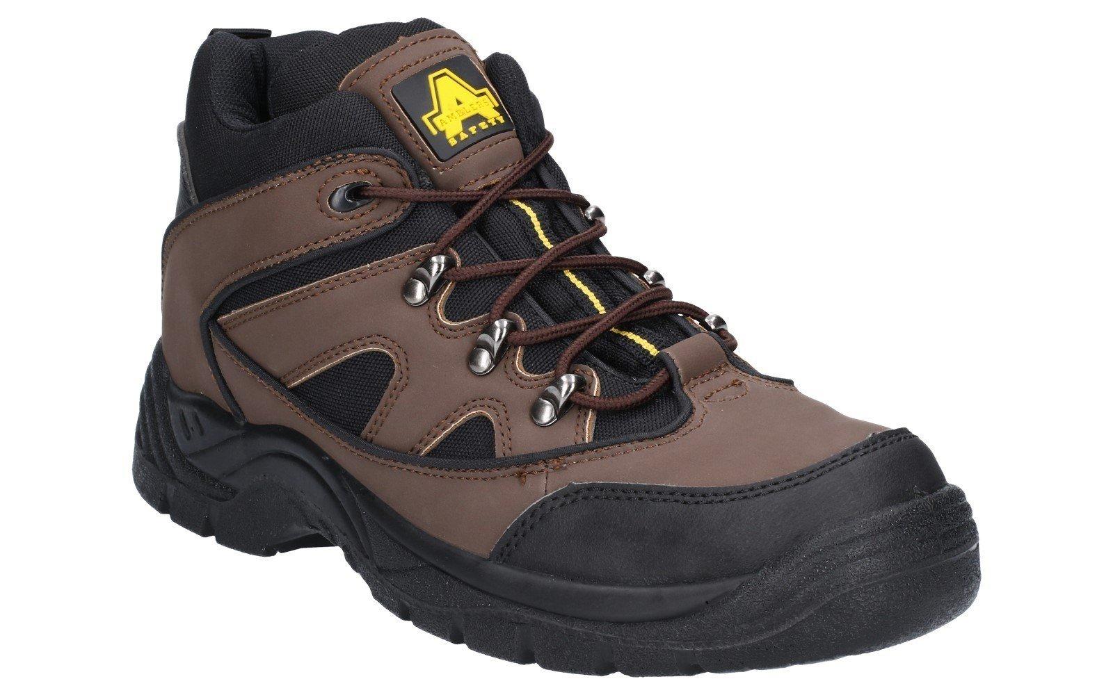 Amblers Unisex Safety Vegan Friendly Boot Brown 16170 - Brown 4