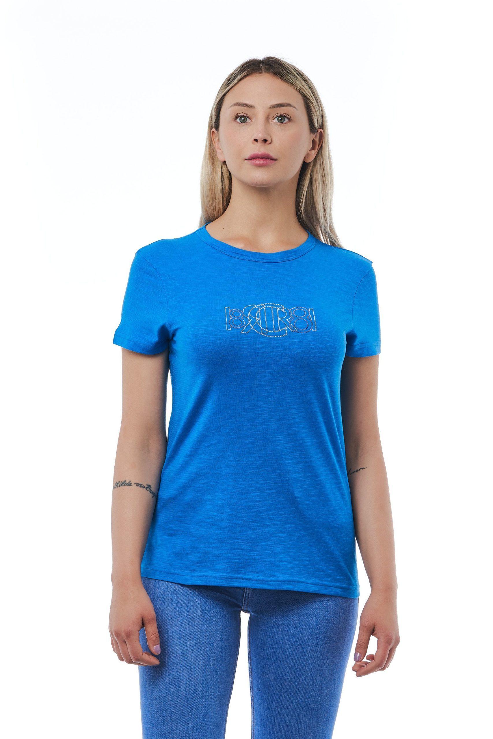 Cerruti 1881 Women's Blutte T-Shirt Light Blue CE1410181 - M