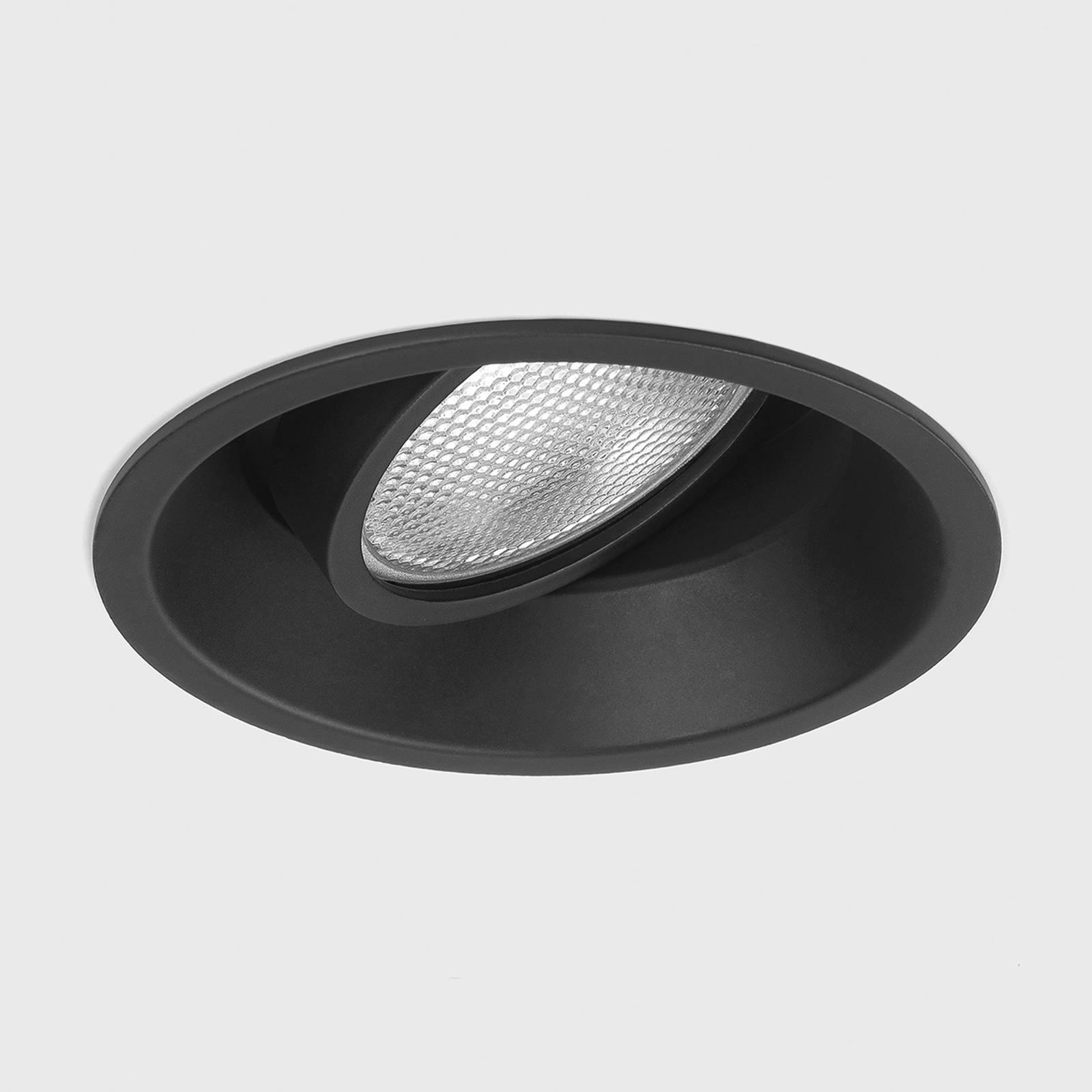 Astro Minima Round Adjustable -uppovalo musta