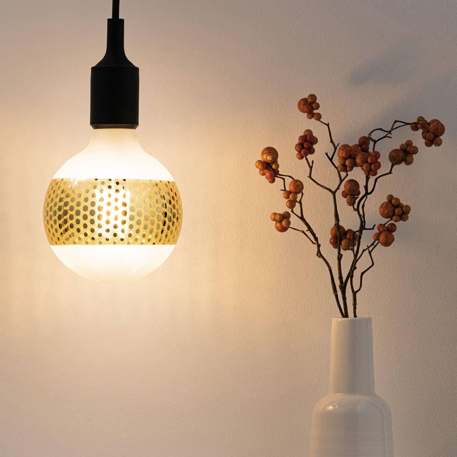 Paulmann E27 LED-globe 4,5W rengaspeili, kulta