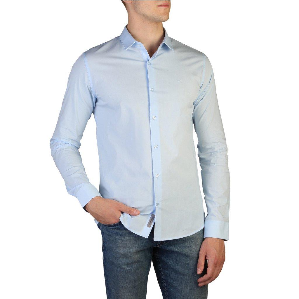 Calvin Klein Men's Shirt Blue J30J300943 - blue S
