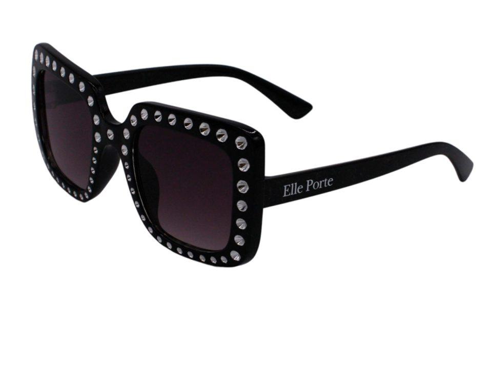 Elle Porte - Beverly Hills - Teen Sunglasses, Black (39TEENSBBLACK)