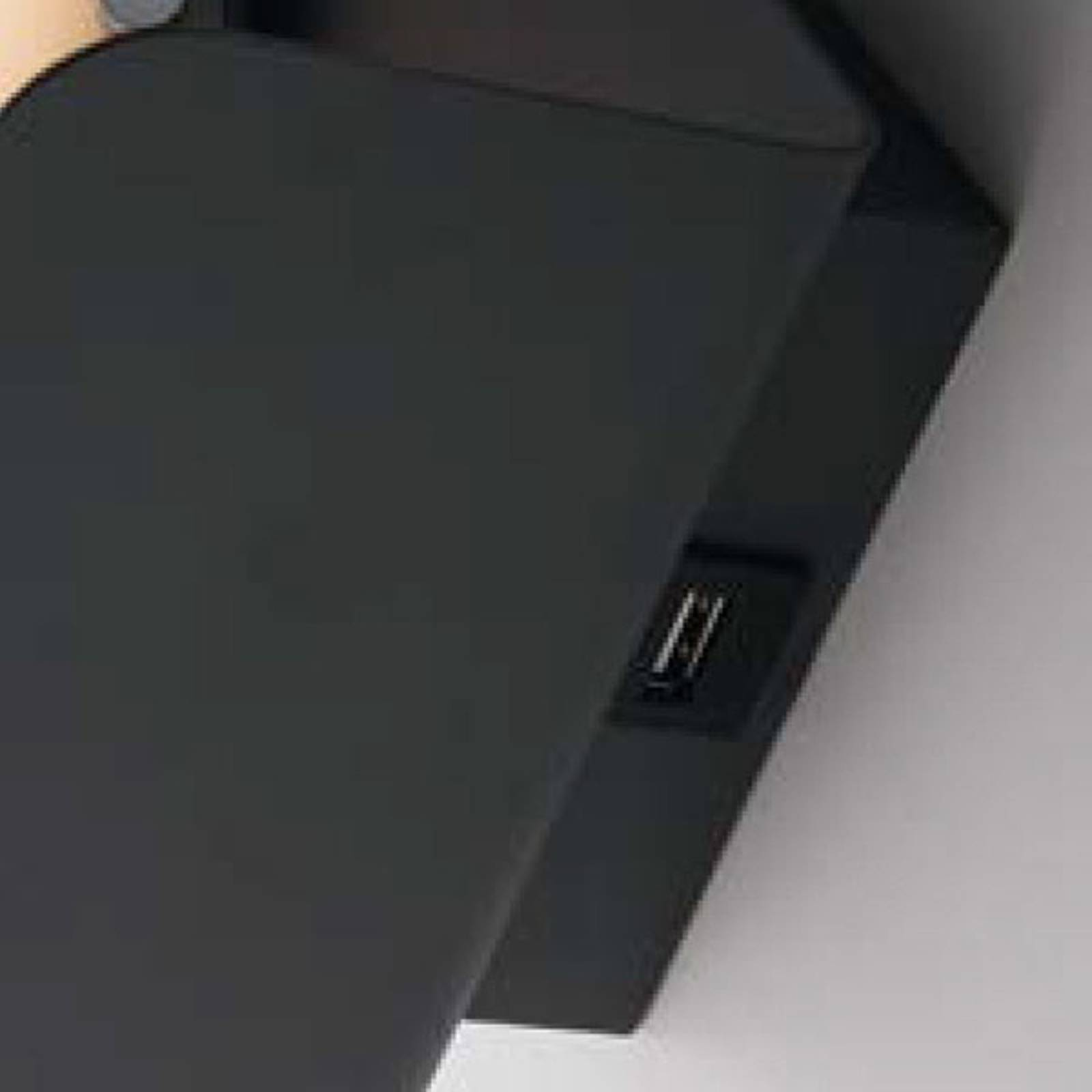 LED-seinävalaisin Boing, musta