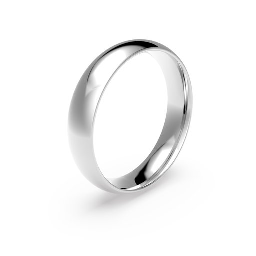 Förlovningsring i platina 5mm, 65