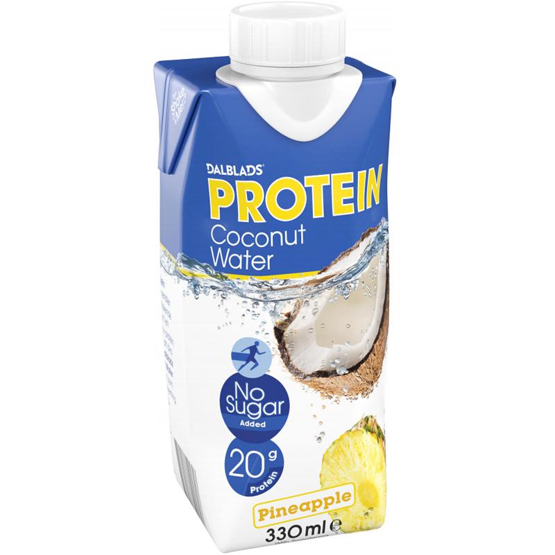 Kookosvesi, Protein Ananas 330ml - 75% alennus