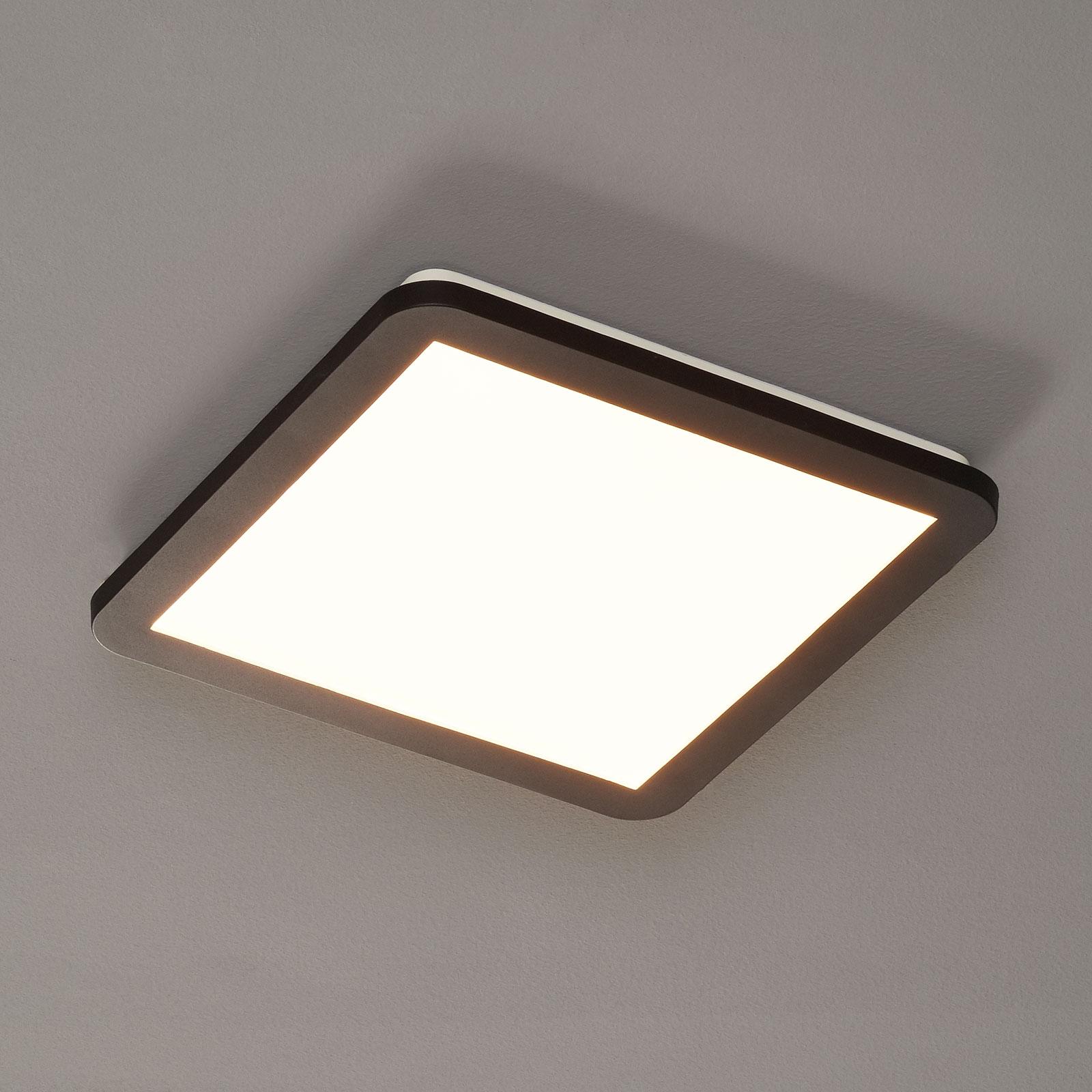 LED-kattovalaisin Camillus, neliö, 30 cm