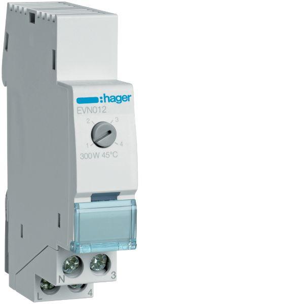 Hager EVN012 Himmennin 230V, 50-60 Hz, IP20 300W, mukavuus, 17,5 mm