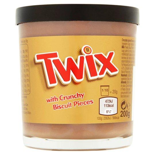 """Twix """"Spread With Crunchy Biscuit"""" 200g - 25% alennus"""