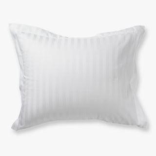 Alice tyynyliina satiinipuuvillaa valkoinen