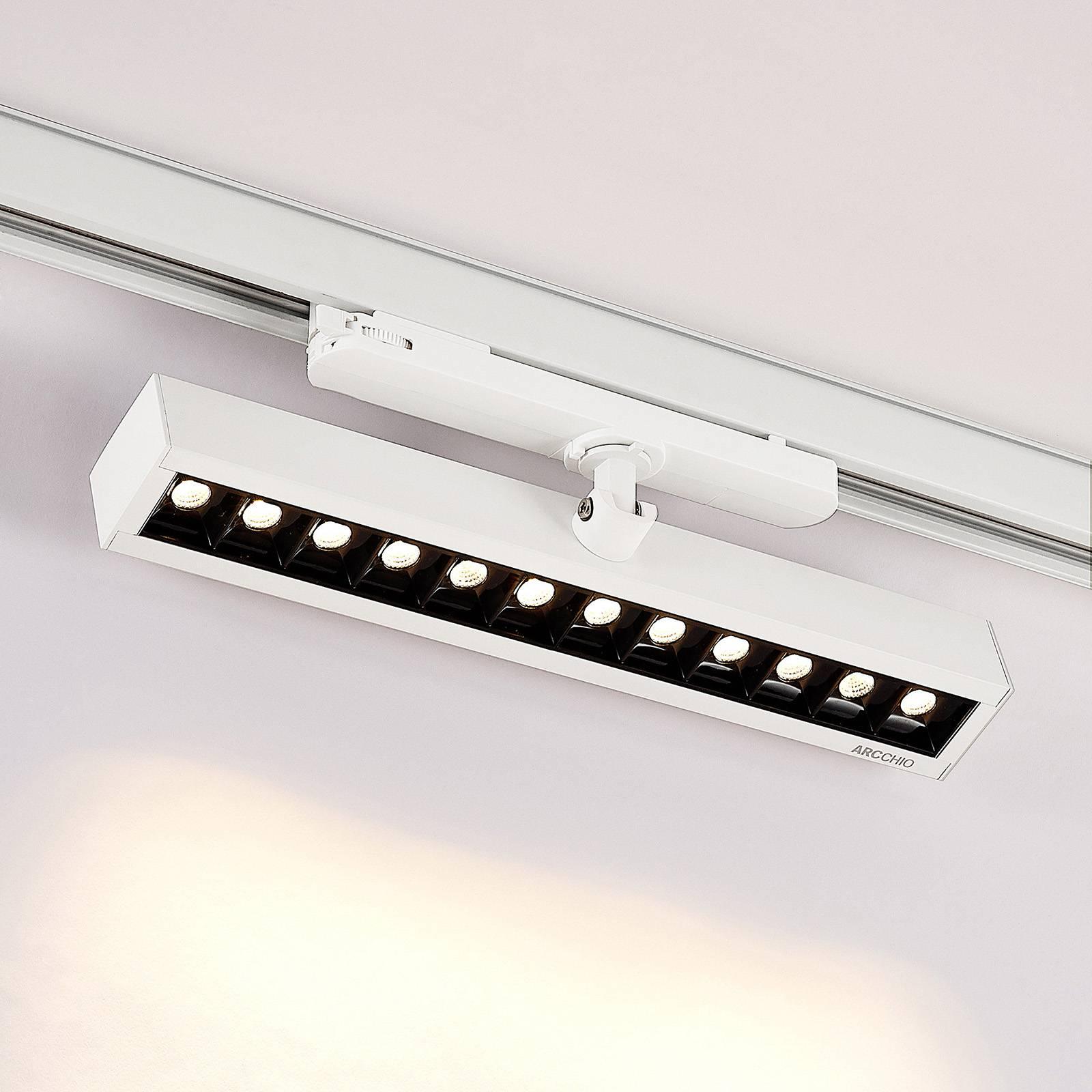 Arcchio Millay -LED-kiskokohdevalo valkoinen 3000K