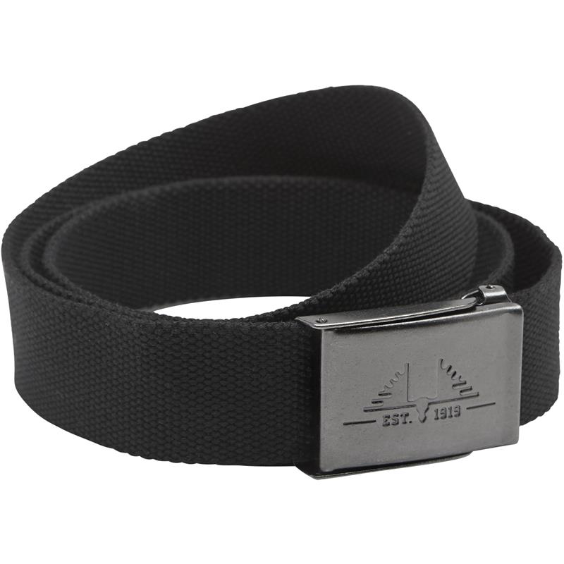 Swedteam Lynx Belt Black Belte i kraftig polyestervev