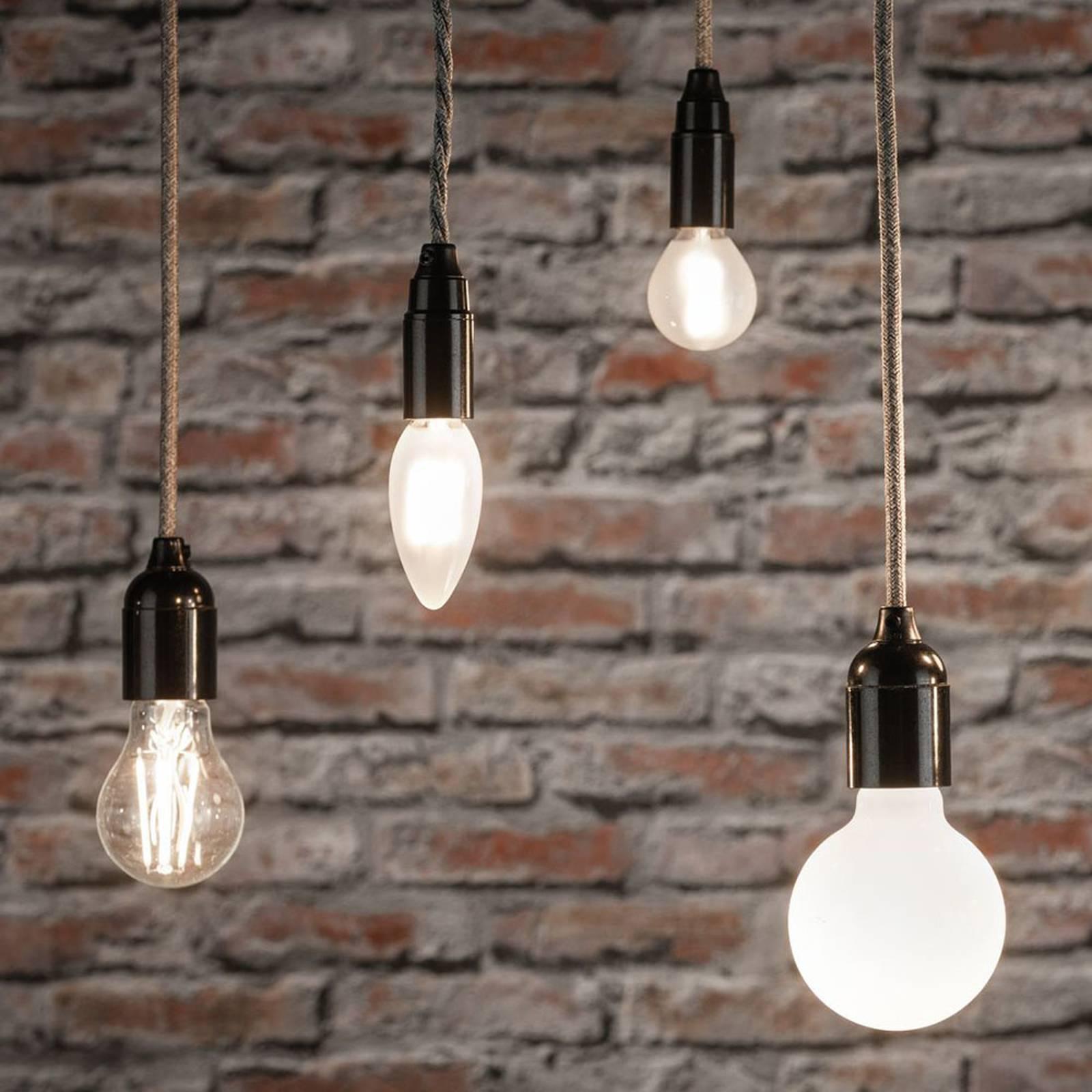 Paulmann-LED-pisaralamppu E14 3W 2700K matta, 2kpl